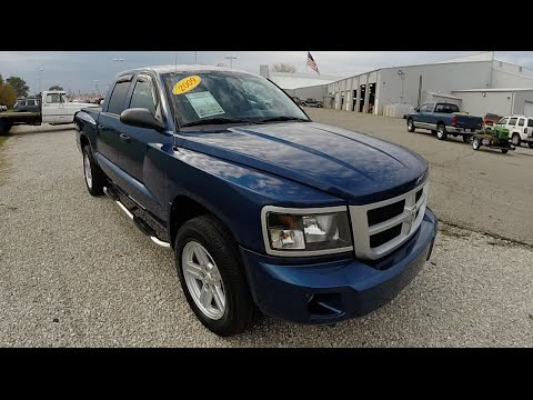 2009 Dodge Dakota Big Horn Blue | Used Trucks Martinsville | 4x4 | P9928A