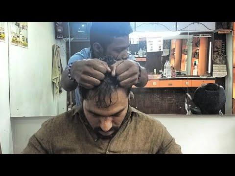 Asmr head Massage with neck Cracking (no talking)