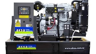 Дизельная электростанция (дизель генератор) AKSA APD25A (18 кВт) в открытом исполнении(Дизель-генераторы AKSA APD 25 A (номинальной мощностью 18,4 кВт и частотой 50 Гц) изготавливаются на основе дизельно..., 2017-01-09T09:31:54.000Z)