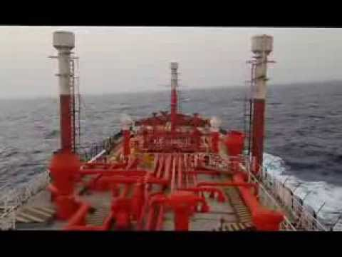 LPG Carrier During Passage in High Risk Area