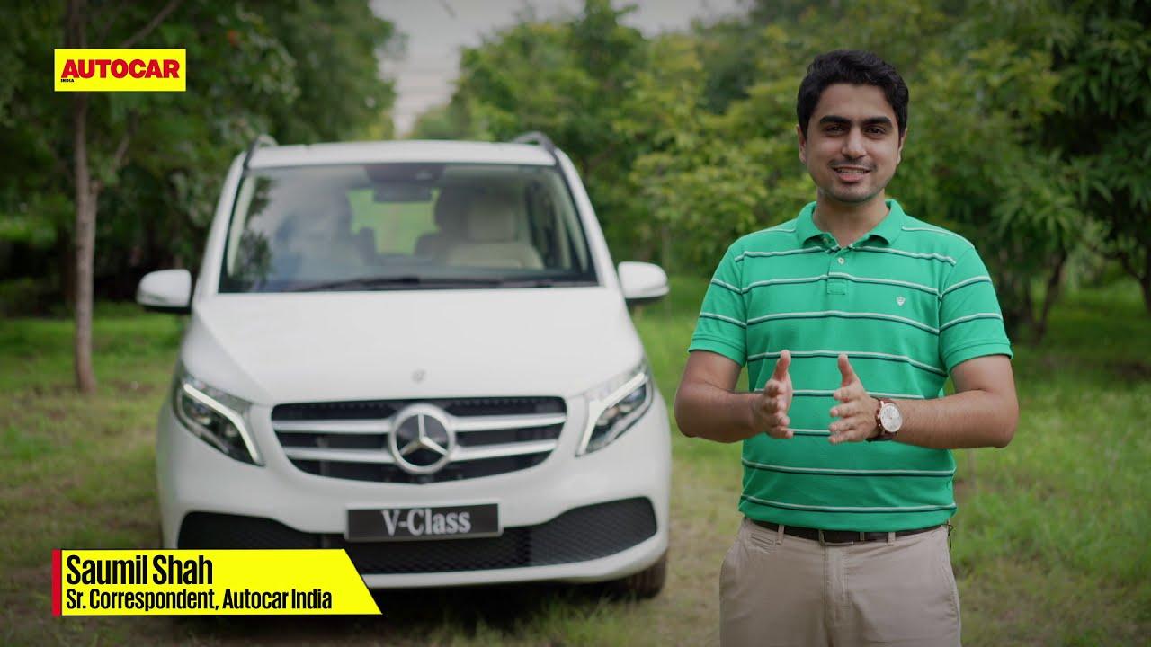 Mercedes-Benz V-Class   Walkthrough