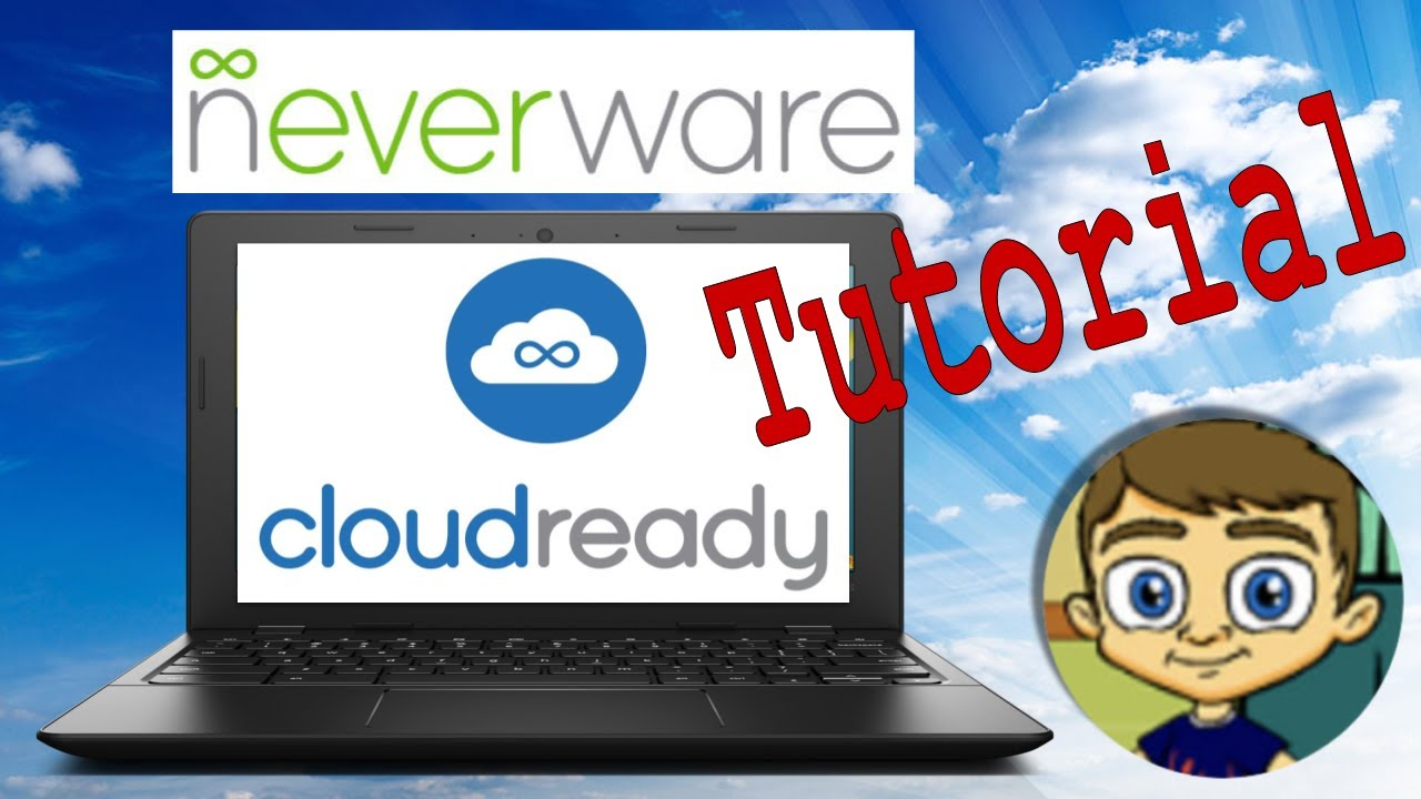 Convert Old Laptop to a Fast Chromebook CloudReady Neverware Tutorial 2017