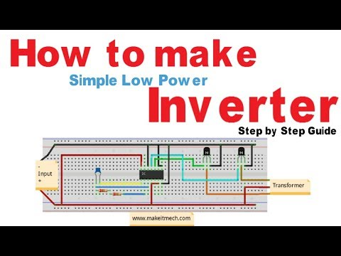 How to make simple Inverter | 100% working circuit - YouTube