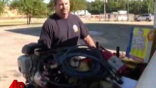 Jaws of Life Salesmen Helps La. Crash Victim