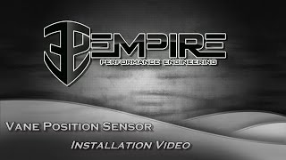 Vane Position Sensor Installation Video