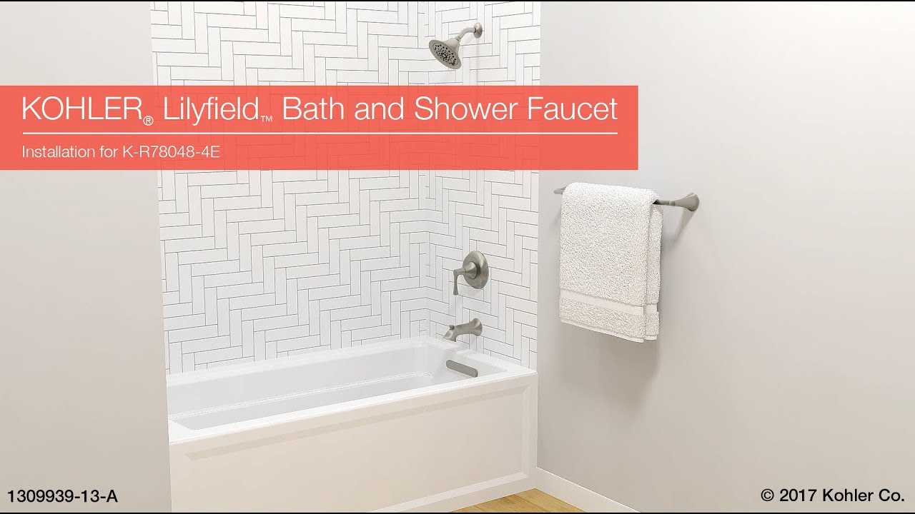 Installation - Lilyfield Bath and Shower Faucet - YouTube