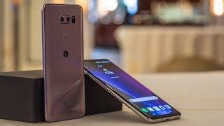 مراجعة للهاتف المحمول LG V30