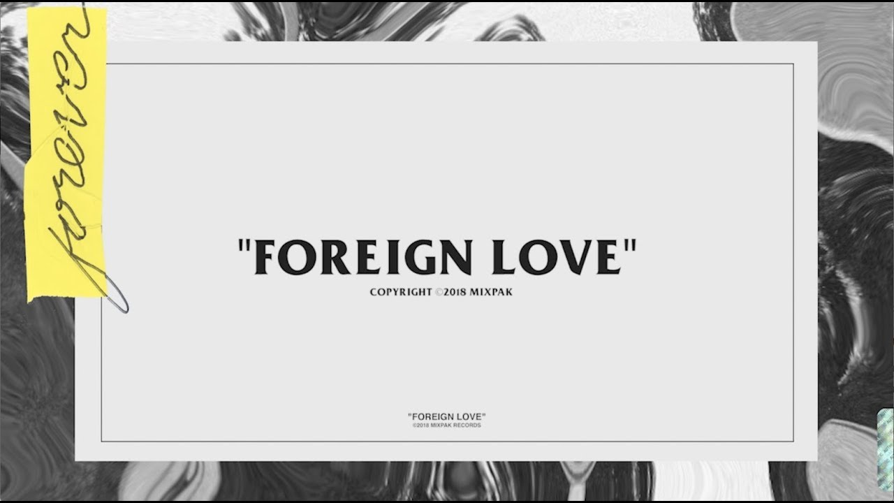 Popcaan - Foreign Love (Official Lyric Video #1