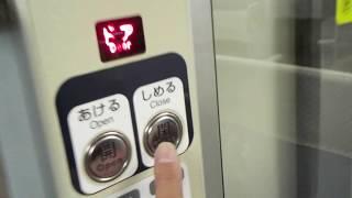 列車半自動ドア【115系300番台電車・湘南色】クハ115-404①