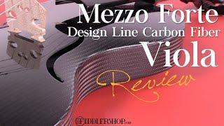 Mezzo Forte Design Line Carbon Fiber Viola