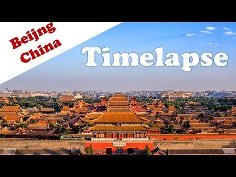 Beijing Timelapse   Travel in China 2019