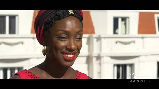Maïmouna N'Diaye : «Fière de faire partie du jury du festival de Cannes»