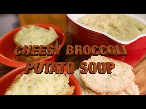 Foxy Vegan | Cheesy Potato & Broccoli Soup