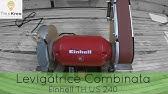 Mola Ad Acqua Einhell.Unboxing Einhell Tc Wd 150 200 Mola Ad Acqua Youtube