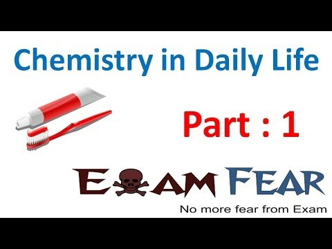 Chemistry in Everyday life part 1 (Introduction) CBSE class 12 XII