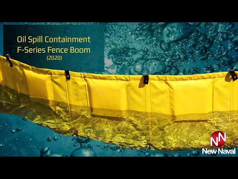 Oil Spill Containment F-Series Fence Boom