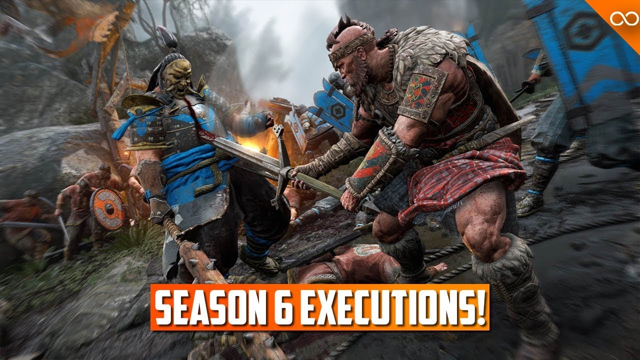 Every season 6 execution for honor new executions youtube - When is for honor season 6 ...