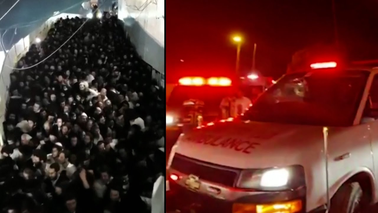 First Responders Rush to Help Those Injured in Stampede
