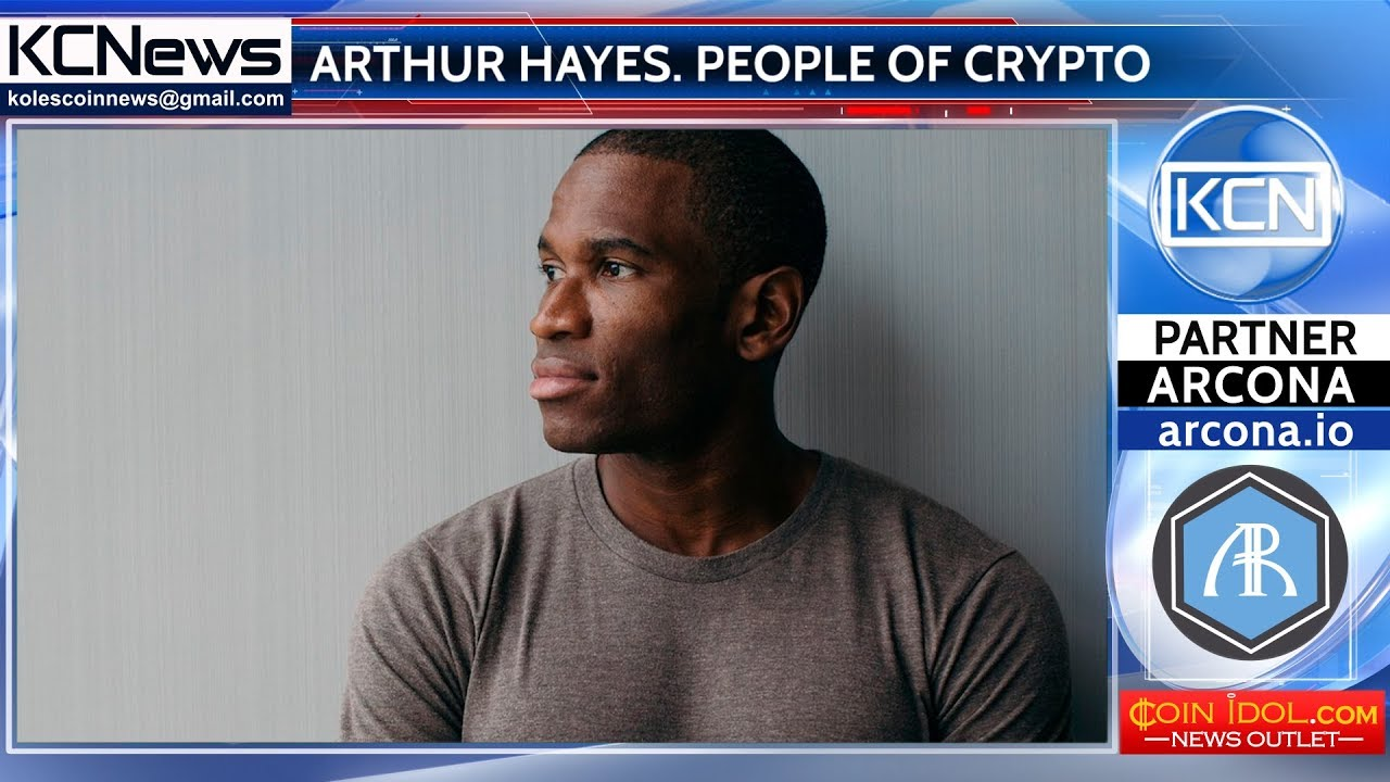 People of Сrypto World - Arthur Hayes