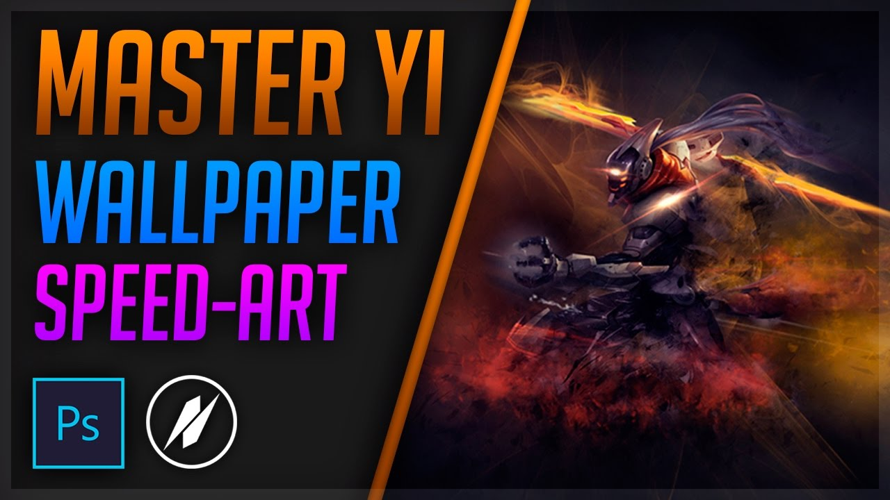 Project Master Yi Speed Art League Of Legends Wallpaper Photoshop