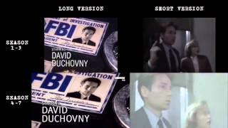 AKTE X | Season 1-7 INTRO Comparison [HD] X-Files