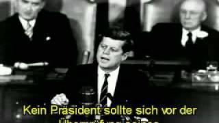 Kennedy über Pressefreiheit und Geheimgesellschaften