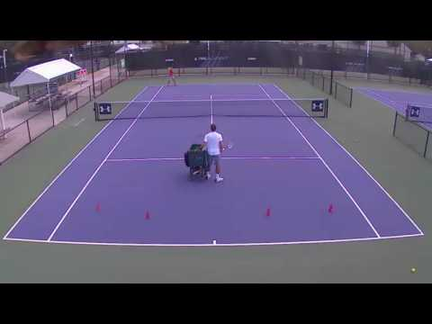 IMG tennis training
