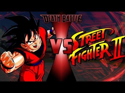 Goku vs Street Fighter II Power Levels (孫悟空VS通りファイター2)
