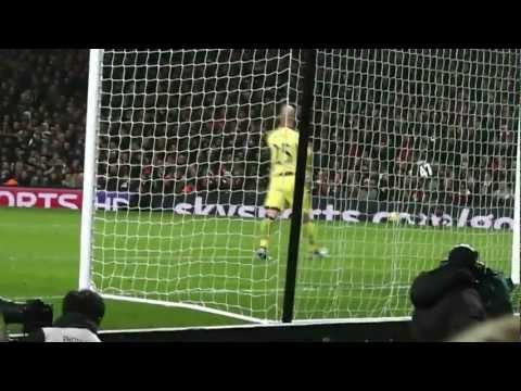 Arsenal v Liverpool 2-2 Emirates Stadium Jan 30th 2013 Premier League (EPL)