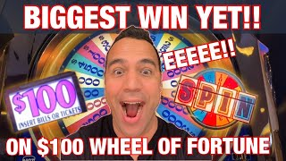 $20,000 SPIN ON $100 WHEEL OF FORTUNE!! 🥇 💰 | EPIC MUST WATCH BIG BET FRIDAY! 🥂 💰 🍀 👑