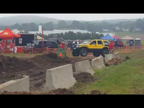 Bananicon, Rock Course At The Great American Jeep Rally