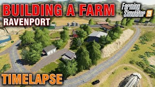 "[""Timelapse"", ""Sim farmer"", ""time lapse"", ""fs19"", ""farming simulator 19"", ""farming simulator"", ""FS19 Building A Farm On Ravenport"", ""fs19 building a farm"", ""fs19 building roads"", ""fs19 terrain tool"", ""fs19 1.2 patch"", ""fs19 terrain sculpting"", ""Fs19 raven"