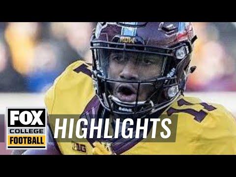 Minnesota Golden vs Nebraska | Highlights | FOX COLLEGE FOOTBALL