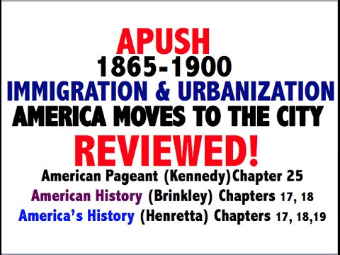 American Pageant Chapter 25 APUSH Review - YouTube