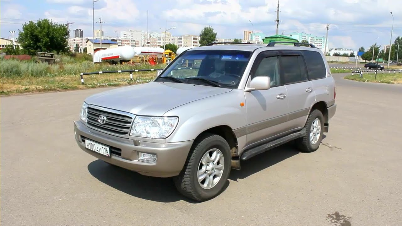 Delightful 2003 Toyota Land Cruiser 100. Start Up, Engine, And In Depth Tour.   YouTube
