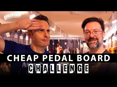 The Cheap Pedal Board Challenge!!