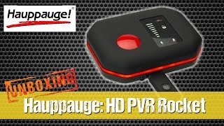 Hauppauge: HD PVR Rocket - Record Xbox One, PS4, Xbox 360, PS3 and PC game play in full 1080p HD!
