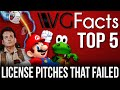 Top 5 License Pitches That Failed - VG Facts Top Lists