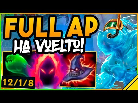 VOLVIÓ EL VIEJO ZAC FULL AP Y SIGUE STOMPEANDO - League Of Legends LOL
