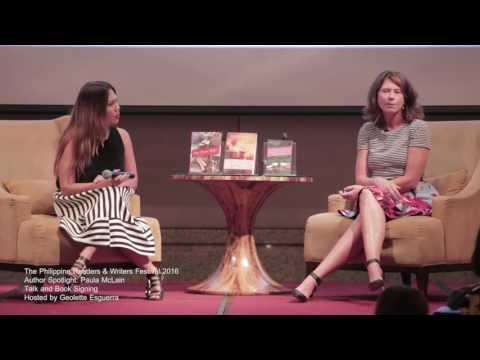 Philippine Readers and Writers Festival 2016 - Paula Mclain