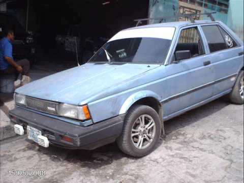 1988 nissan sentra hi performance - YouTube
