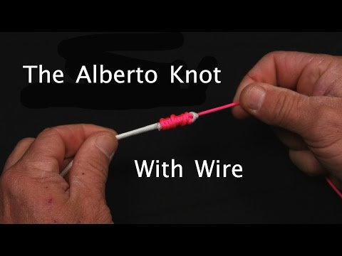 The Alberto Knot With Wire For Toothy Fish | Saltwater Experience