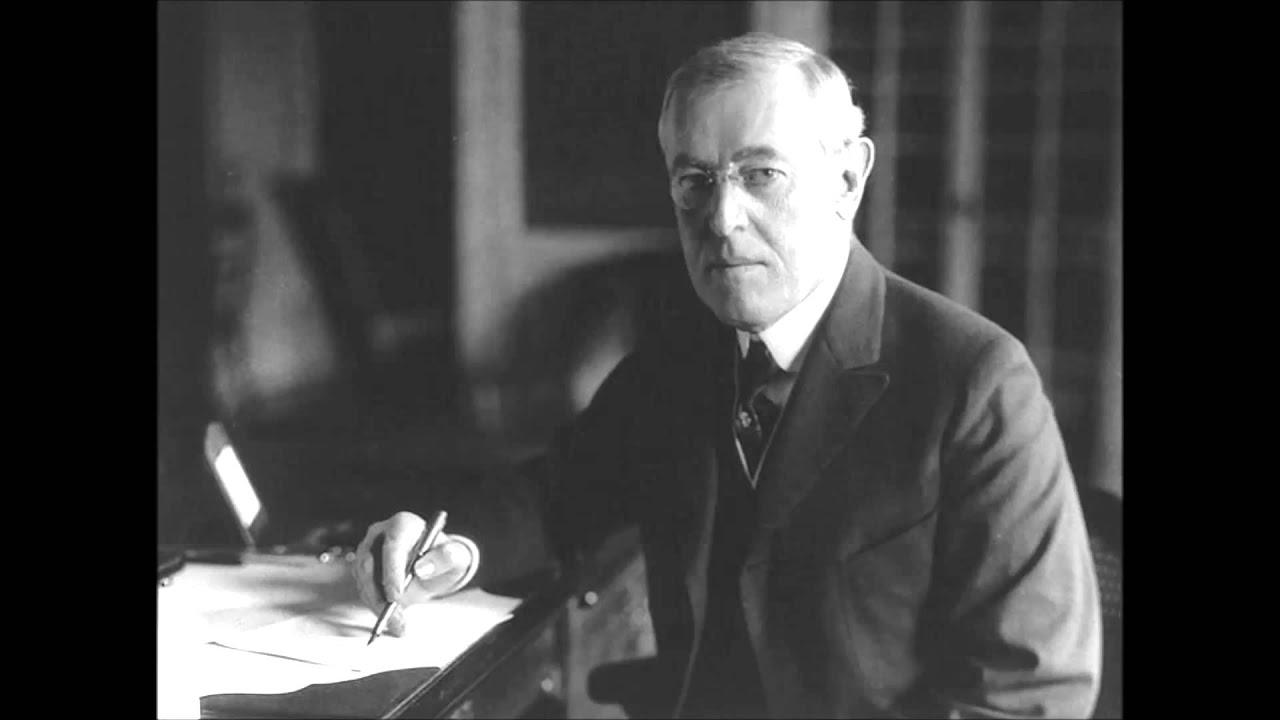 Woodrow Wilson's Fourteen Points Paper