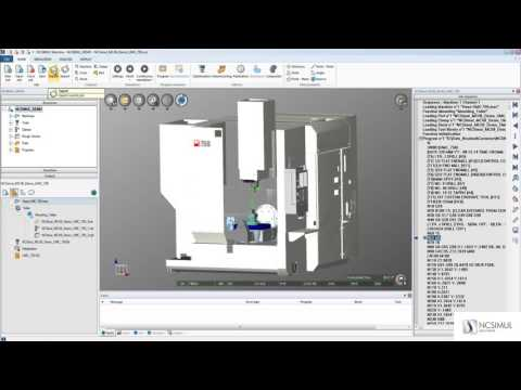 Export a machine & project from NCSIMUL Machine | Tutorial