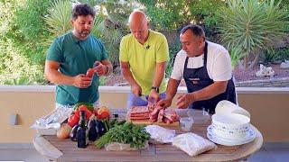 Как приготовить вкусный, сочный шашлык и кебаб в кругу друзей. Рецепт от Жоржа