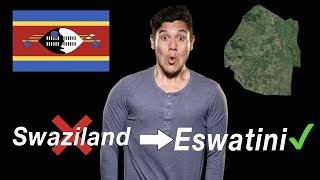 Geography Now! ESWATINI