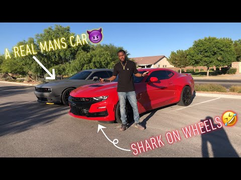 2019 Camaro SS Review from a Dodge Challenger Scatpack Perspective**MUST WATCH**