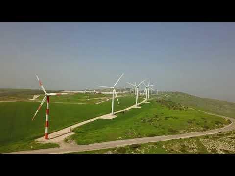 Windmills on Mt. Gilboa