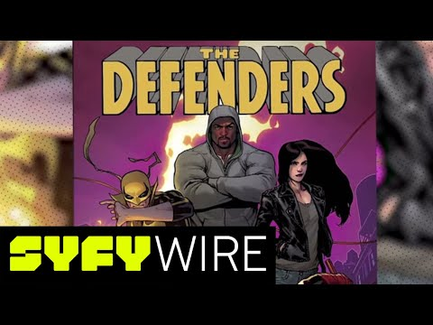 Defenders Writer Brian Michael Bendis on Luke Cage and More | SYFY WIRE