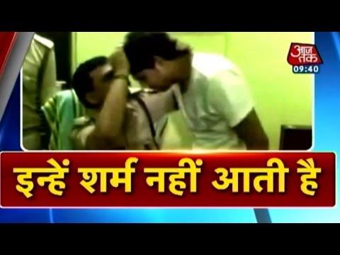 Kanpur Jyoti Murder case: Cop hugs, advises murder accused